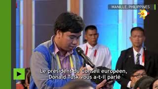 Ne venez pas me faire chier avec la souveraineté de mon pays», Duterte met L'UE en garde