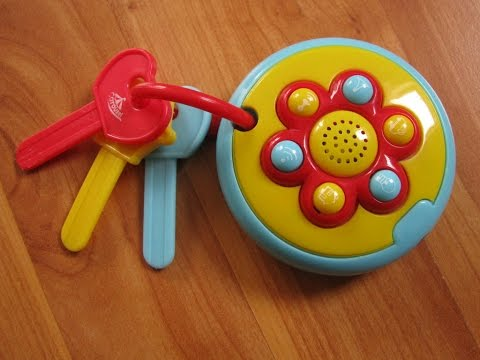 Carousel Baby Car Keys Toy with Sound Effects and Flash Light
