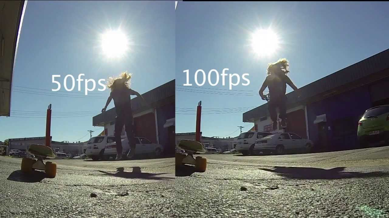 GoPro 3 Review 100 vs 50 fps 720p Test Footage - YouTube