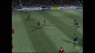 FIFA Soccer 07 Xbox Gameplay-Cinematic - FIFA Manager Mode