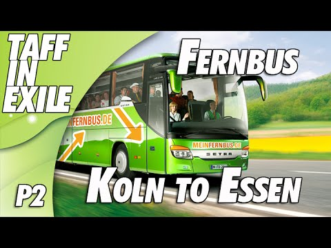 Fernbus Simulator - Multi Drop | Koln to Essen | Part 2