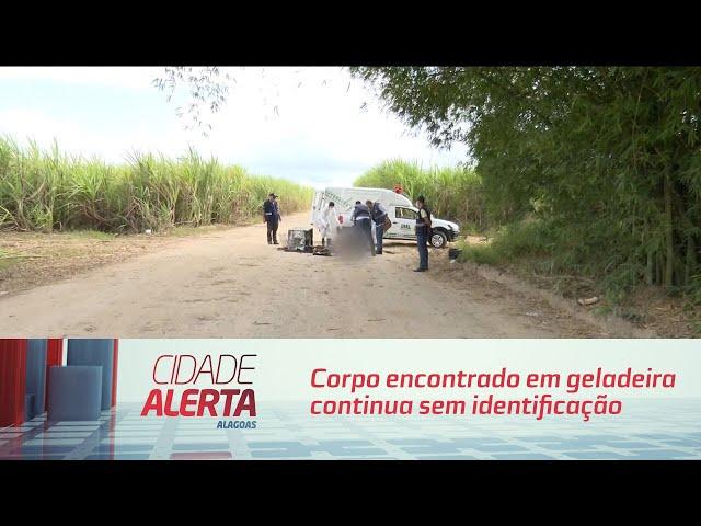 Corpo de mulher encontrado em geladeira continua sem identificação no IML