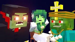 The Minecraft Life of Zomma & ZomBo ' GHOUL' | ZomBo Minecraft Animation