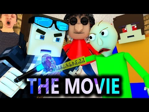 BALDI'S BASICS VS MINECRAFT CHALLENGE THE MOVIE! (Official) Baldi Minecraft Animation Horror Game