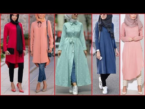 kashmiri Kurti Designs | latest Dress style long Shirt |hijabi Girls Fashion| long shirt designs