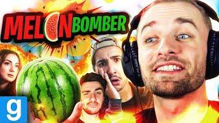 BOMBERMAN AVEC DES PASTÈQUES ! 🍉 (Melon Bomber ft. Luciole, Sofyan, Théo Bernard)