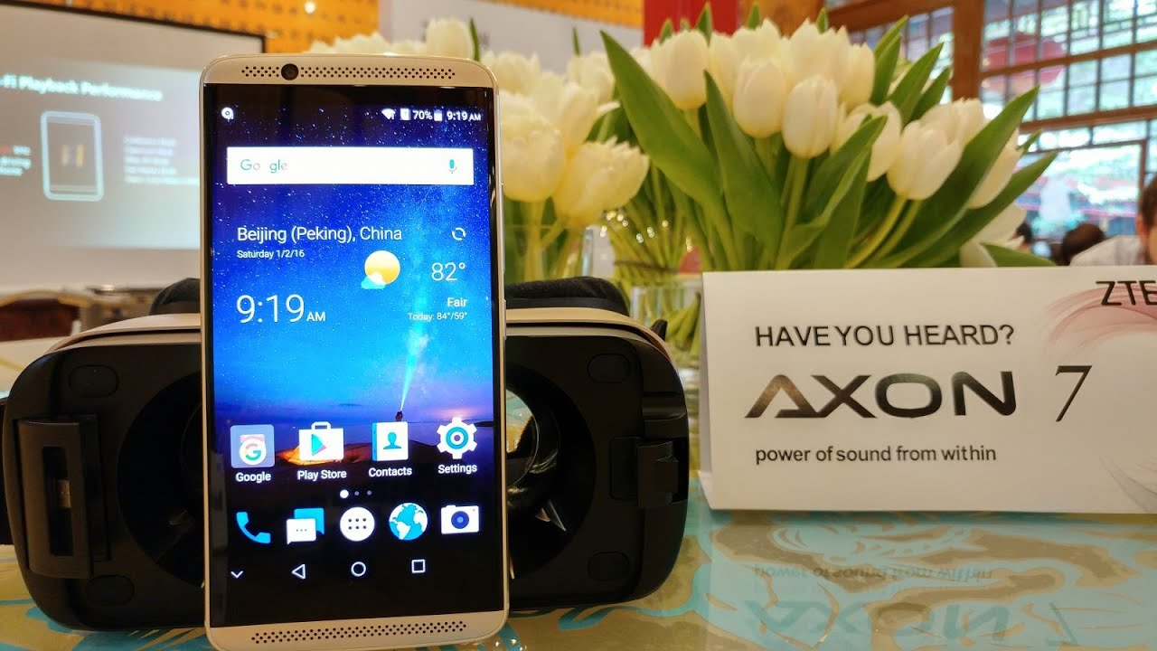 ZTE Axon 7 Unboxing and detailed Hands On Test