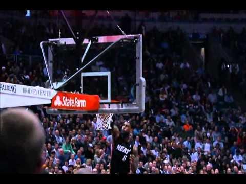 Lebron James & Dwyane Wade best duo 2011-2012 NBA highlights Miami Heat regular season