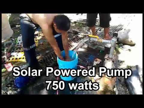 Solar Power Deep Well Pump Philippines 2018