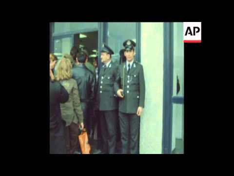 SYND 15-3-74 SECURITY AT ATHENS AIRPORT