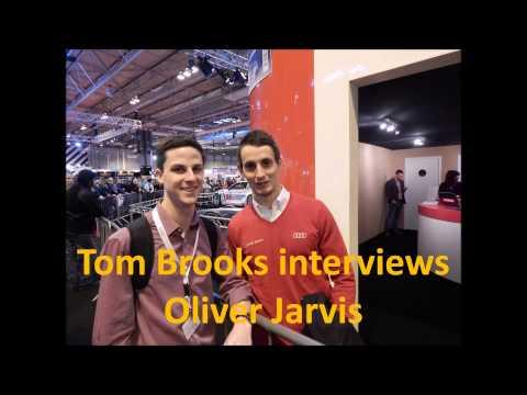 Tom Brooks interviews 2015 Audi Sport driver, Oliver Jarvis