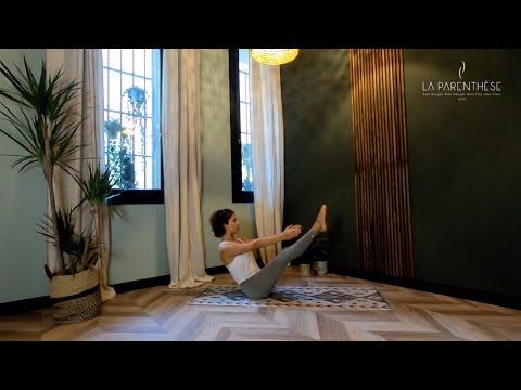 Cours de Yoga Ashtanga<br>par Rola Fort<br>Durée : 50 minutes 30