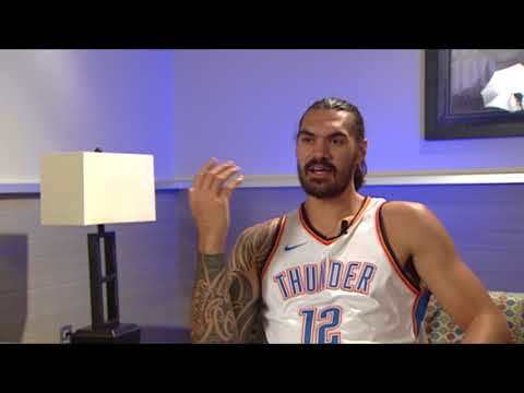 Steven Adams says he doesn't feel any extra pressure entering contract year