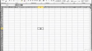 MS Excel 2010 Урок за въвеждане на данни