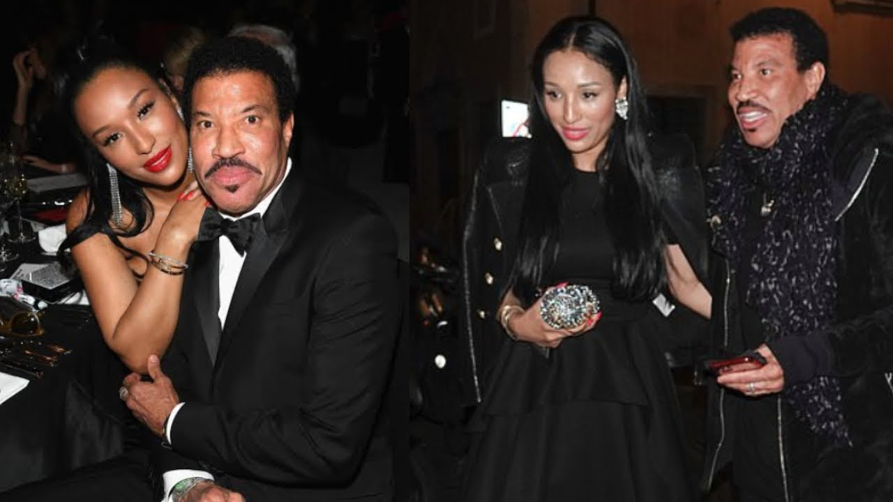 Lionel Richie's Much Younger Girlfriend Lisa Looks Beautiful ...