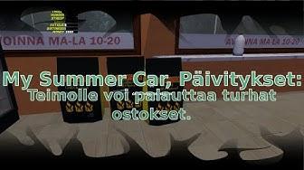My Summer Car, Päivitykset: Teimolle voi palauttaa turhat ostokset!