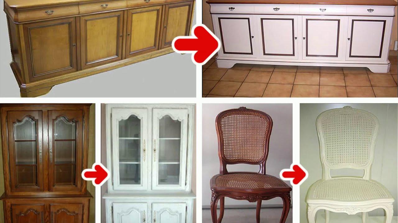 Peinture pour meubles de cuisine en bois verni youtube - Meuble de cuisine ...