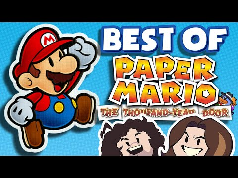 Game Grumps BEST Paper Mario: TTYD Moments!
