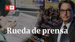 Rueda de prensa: se radica la reforma tributaria 2021 en Colombia   Semana Noticias