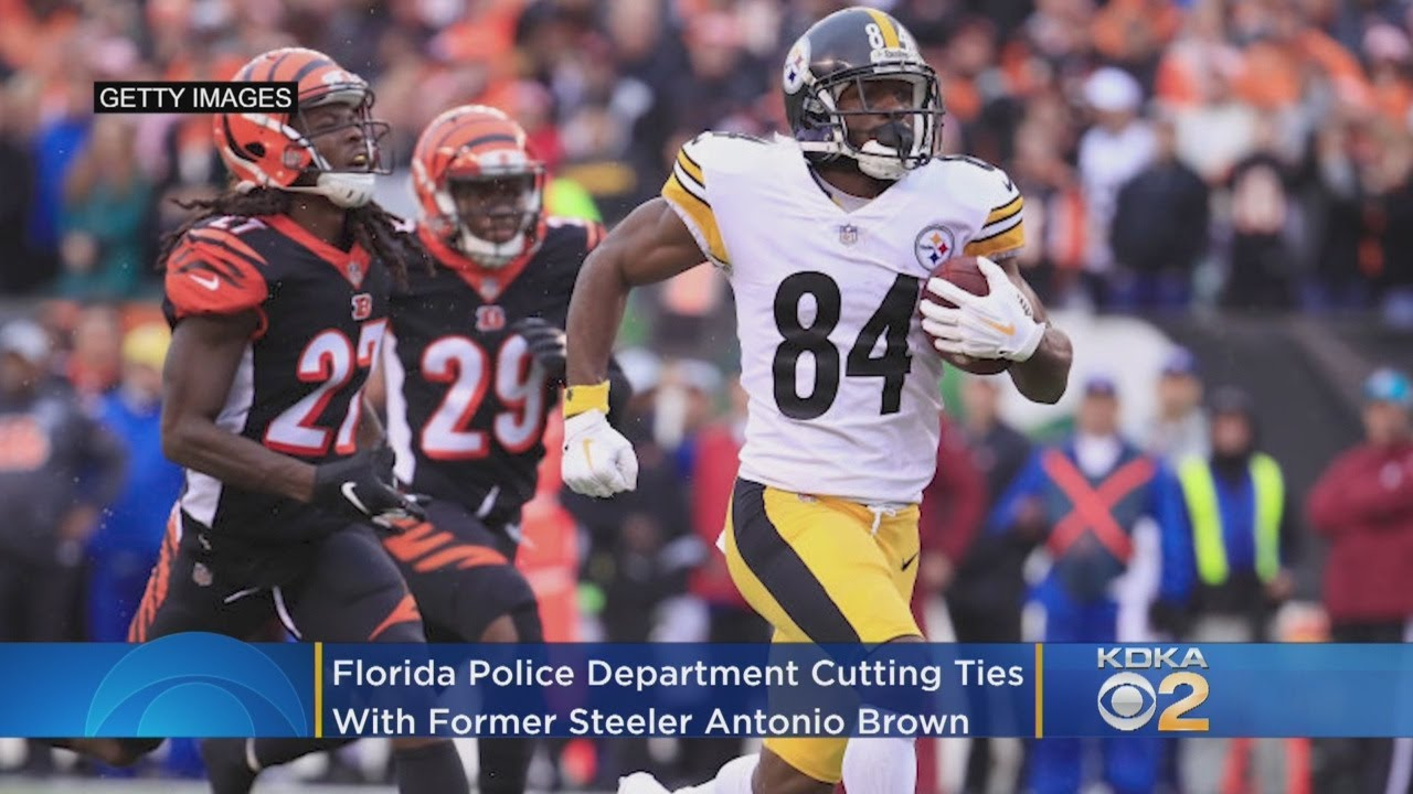 Florida Police Cut Ties With Former Pittsburgh Steelers Wide ...