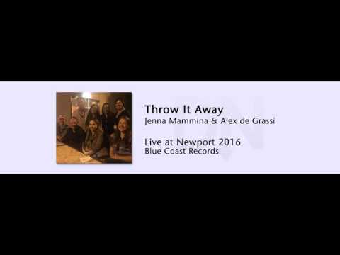 Jenna Mammina & Alex de Grassi - Throw It Away - Live at Newport 2016 - 02