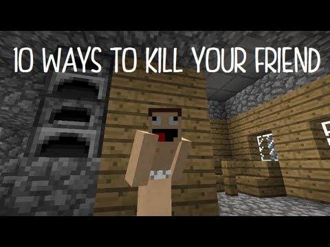 10 Ways to Kill Your Friend In Minecraft