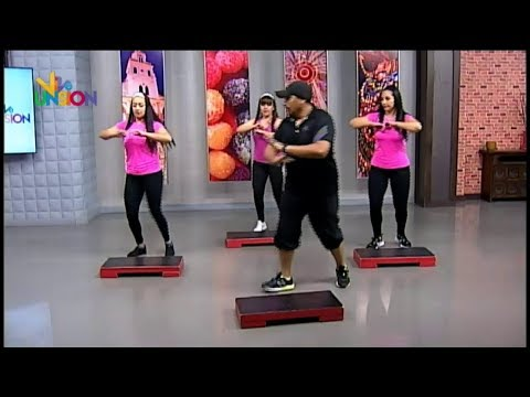 "Víctor Cabrera Instructor de Aero Step ""Latino Step"""
