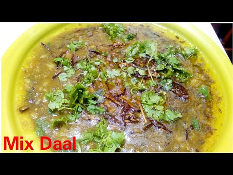 Mix daal recipe by Kitchen with Rehana