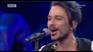The Voice of Greece 3 - Cross Battles - WHATAYA WANT FROM ME - Mike Αραϊτζόγλου