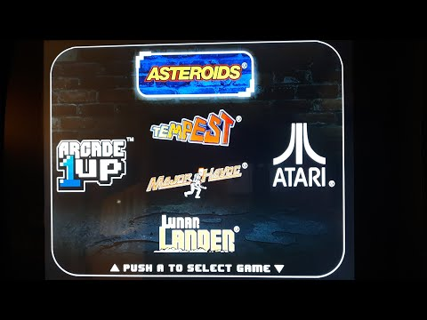 Repeat Arcade1Up Asteroids 4 in 1 Arcade Game: Gameplay and
