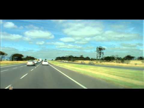 Melbourne to Geelong. The Princes Freeway M1. Abakus - Diametric