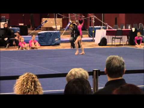 Flips Invitational 2014 New Level 4 7 year old