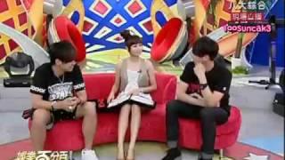 Who would Hu Die choose between Xiao Zhu and Xiao Gui?~ 100% Entertainment [ENG SUB]