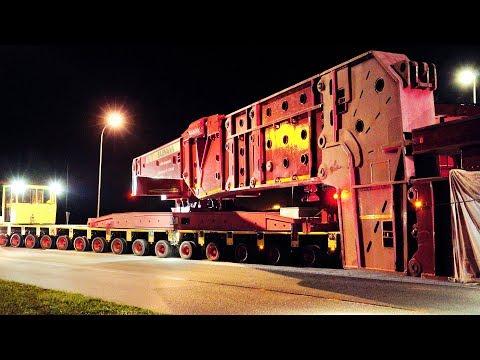 824 Tons Heavy Transport | Transformer High Girder Bridge