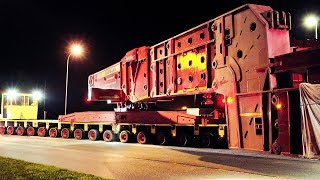 824 Tons Heavy Transport | Transformer High Girder Bridge