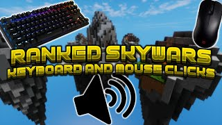 RANKED SKYWARS | KEYBOARD AND MOUSE SOUNDS | *BUTTERFLY CLICKING ONLY*