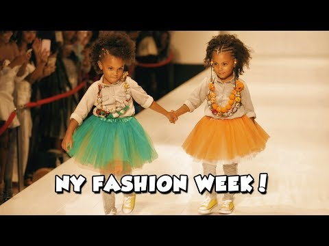 WALKING THE RUNWAY! | NEW YORK FASHION WEEK
