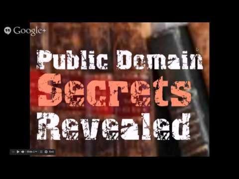 Best Real Estate Public Domain Secrets Revealed