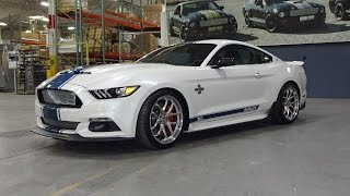 2017 Super Snake Shelby Mustang in White / Blue & Engine Sound on My Car Story with Lou Costabile