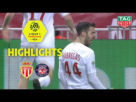 AS Monaco - Toulouse FC ( 2-1 ) - Highlights - (ASM - TFC) / 2018-19