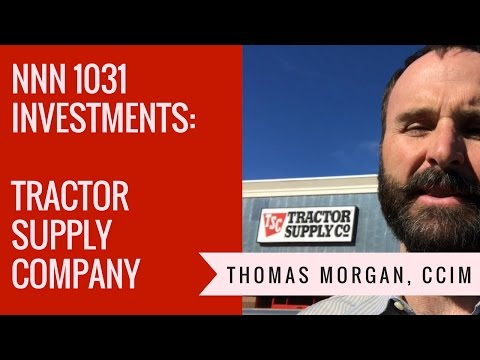 NNN 1031 Investments - Tractor Supply Company TSC Deals