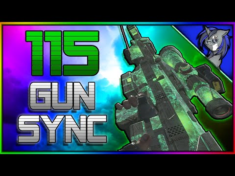 ♪ BRING ME 115 ♪ MultiCOD Zombies Gun Sync  Black Ops 2, Advanced Warfare Gun Sync wLyrics
