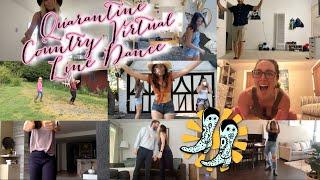 Stagecouch Fest's Quarantine Line Dance Lesson