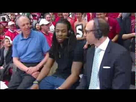 Richard Sherman Joins The Broadcast