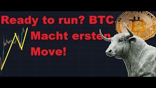 Bitcoin: Der Bulle nimmt erste Hürde! Wie schnell kommen wir jetzt hoch?Phase 2 hat begonnen! TA BTC