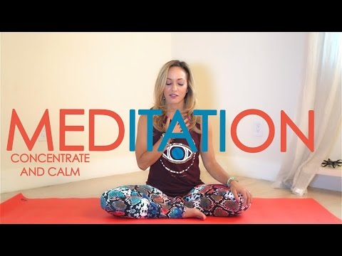 Week Three: Month of Meditation with Kino Yoga - Concentrate and Calm the Mind