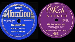 1940 STEREO New San Antonio Rose + 1938 Fiddle version