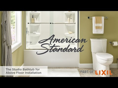 The Studio Bathtub For Above Floor Installation By American Standard