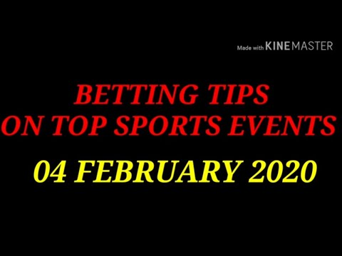 FOOTBALL PREDICTIONS (SOCCER BETTING TIPS) TODAY 04/02/2020