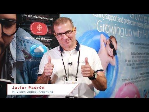 Hi Vision Optical Latinoamérica en Vision Expo 2018: Javier Padrón